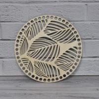 Донышко круглое (листья, 20 см)