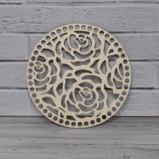 Донышко круглое (розы, 20 см)