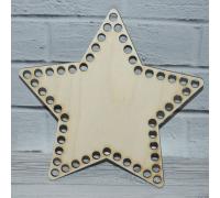 Донышко звезда 22 см