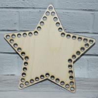 Донышко звезда 20 см