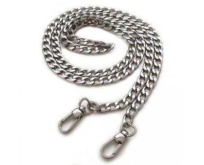 Цепочка на карабинах (серебро)