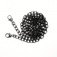 Цепочка для сумки тонкая (черный, м1)
