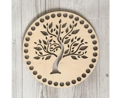 Донышко круглое (дерево, 15 см)