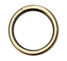 Кольцо круглое 25мм (бронза)