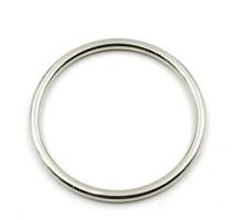 Кольцо круглое 25мм (серебряное)