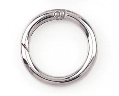 Кольцо-карабин (серебряное)