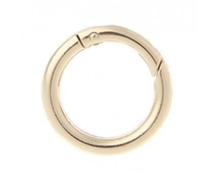 Кольцо-карабин (золотое)