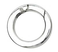 Кольцо разъемное 25мм (никель)