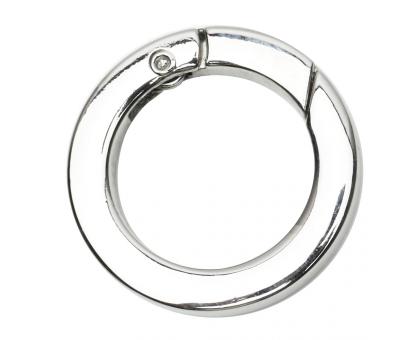 Кольцо разъемное 20мм (серебряное)