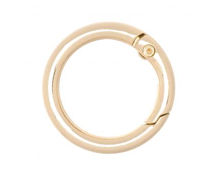 Кольцо разъемное 25мм (золото)