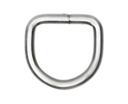 Полукольцо 30х25мм (серебряное)