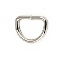 Полукольцо 20х20мм (серебряное)