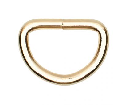 Полукольцо 20х20мм (золотое)