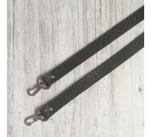 Ручка для сумки на карабинах (серый)