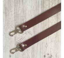 Ручка для сумки на карабинах (вишневый)