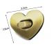 Замок сердце (серебряный)