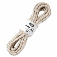 Шнур джутовый Halva (размер XL, Premium cream)
