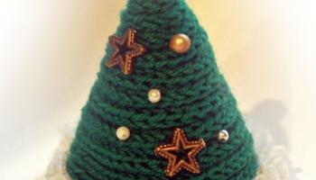 Новогодние подарки и украшения из пряжи и шнура