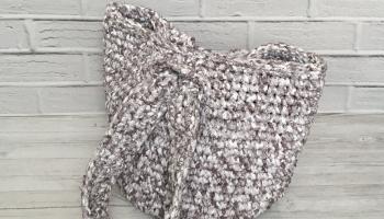 Мастер-класс по вязанию сумки-петли