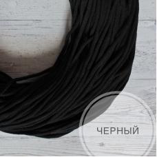 Шнур хлопковый (черный)
