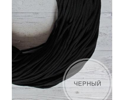 Шнур хлопковый (черный, 100м.)