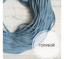 Шнур хлопковый (голубой, 200м.)