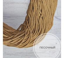 Шнур хлопковый (песочный, 100м.)