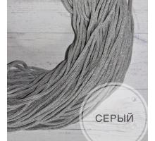 Шнур хлопковый (серый, 100м.)
