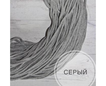 Шнур хлопковый (серый, 200м.)