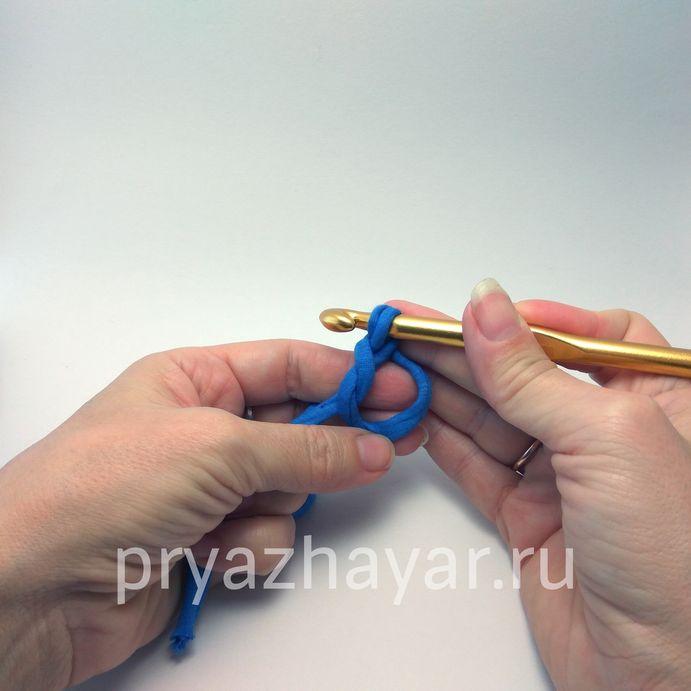 Вязание кольца амигуруми