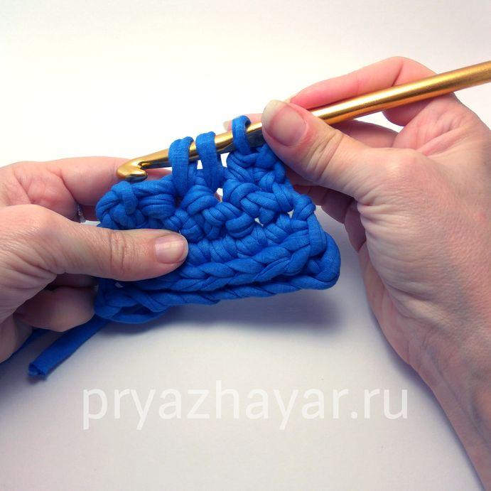 Вязание убавки